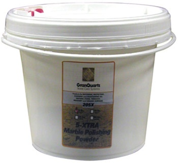 GranQuartz 205X 5X Marble Polishing Compound - 4.4 Lbs (2Kg)
