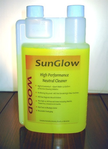 SunGlow Concentrated Wood Cleaner