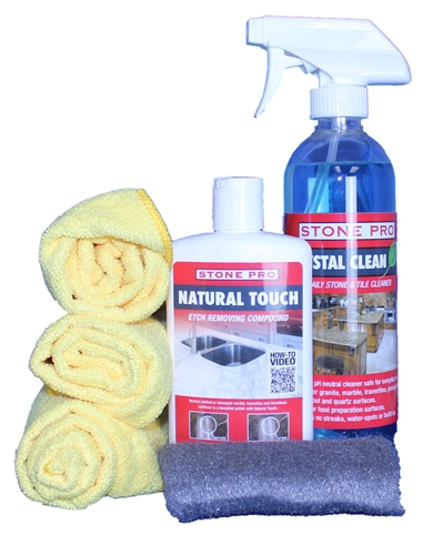 Etch Remover ProKit for Marble, Travertine, & Limestone