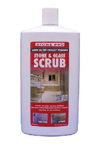 Stone Pro Stone and Glass Scrub Safe Abrasive Cleaner - 1 Quart