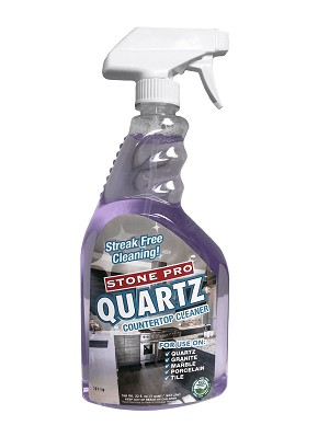 Stone Pro Quartz Counter Top Cleaner - 32 Ounce